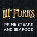 Iii Forks Steakhouse logo icon