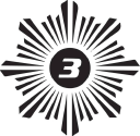 3four3 logo icon