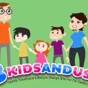 3 Kids And Us logo icon
