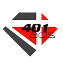 401 Ads logo icon