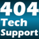 404 Tech Support logo icon
