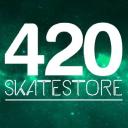 420 Skatestore logo icon