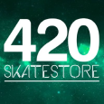 420skatestore Logo