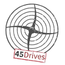 45 Drives logo icon