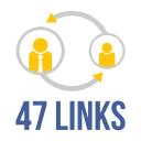 47 Links logo icon