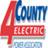4-County Electric Company Logo