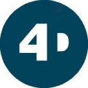 4 D Immersive logo icon