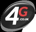 4 G logo icon