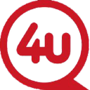 4 U Designed logo icon