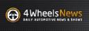 4 Wheels News logo icon