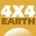 4x4 Earth logo icon
