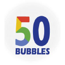 50 Bubbles logo icon