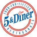 5 & Diner Company Logo