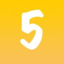 5 Balloons logo