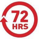 72 Hours logo icon