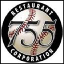 755 Restaurant logo icon