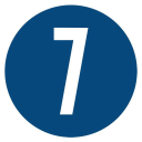 7 Ditches Tv logo icon