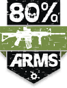 80% Arms logo icon