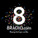 8 Radio logo icon