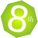 8th logo icon