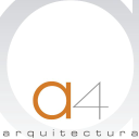 a-cuattro arquitectura logo