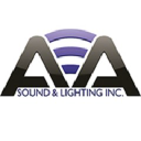 A A Sound and Lighting Inc logo