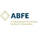 ABFE. A Philanthropic Partnership for Black Communities logo
