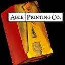 Able Printing Company logo