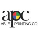 Able Printing Co. logo