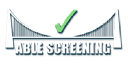 Able Screening Services logo