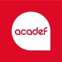 Acadef Escuela logo