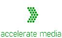 Accelerate Media, Inc. logo