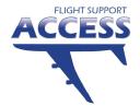 Access Flight Support logo