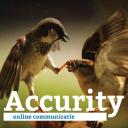 Accurity online communicatie logo