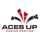 Aces Up Casino Parties logo