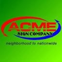 Acme Sign Company logo