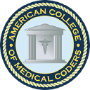 American College of Medical Coders logo