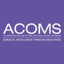 ACOMS - The American College of Oral and Maxillofacial Surgeons logo