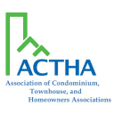 ACTHA- Association of Condominium, Townhouse, and Homeowners Associations logo
