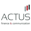 ACTUS finance & communication logo