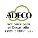 Adeco, Acciones para el desarrollo Comunitario A.C. logo