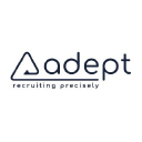 ADEPT RECRUITING ...Recruiting Precisely logo