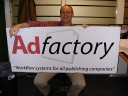 AdFactory Int., advertising software logo
