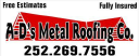 AD's Metal Roofing logo
