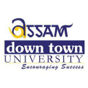 Assam down town University logo
