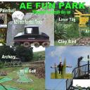 AE Fun Park logo