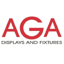 AGA Displays and Fixtures logo