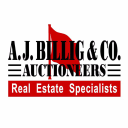 A.J. Billig & Co., Auctioneers logo