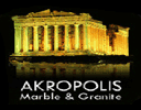 Akropolis Marble & Granite logo