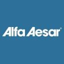 Alfa Aesar a Johnson Matthey Company logo